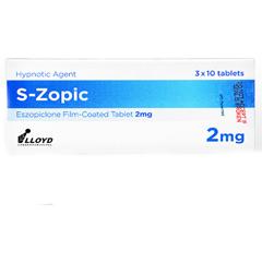 エスゾピック(S-Zopic)